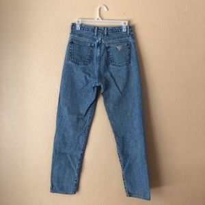 Guess Vintage High Waisted Mom Jeans Size 29